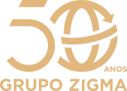 Logo Zigma 50 anos
